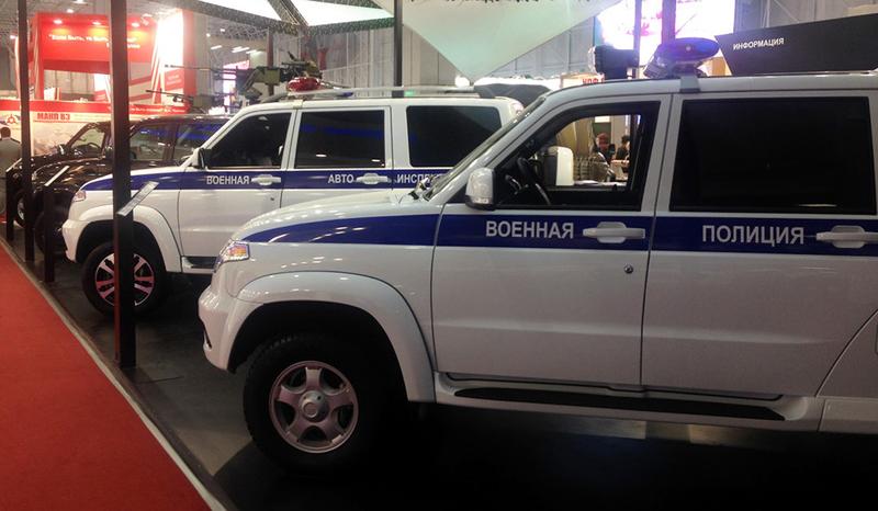 УАЗ для полиции