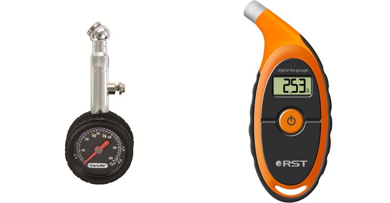 Манометры измерения давления в шинах